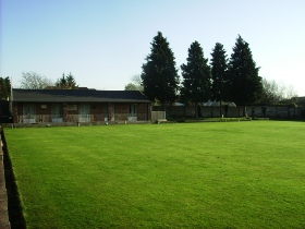 Image of the Bowling Green at the Marlborough Club, Didcot.